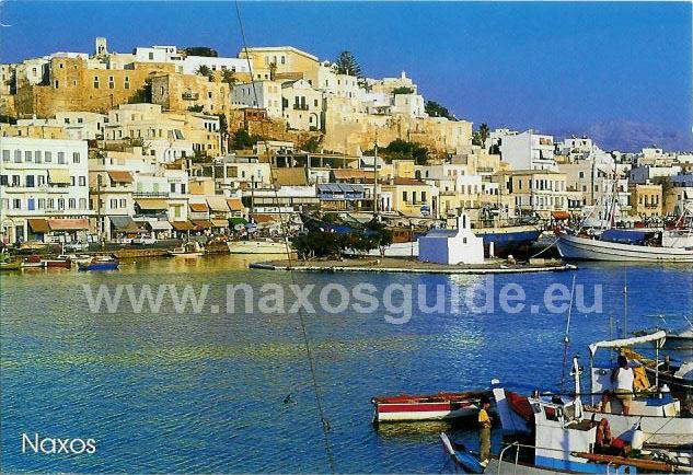 naxos men I 1941 ble naxos okkupert av fascistiske italia med rundt 2000 soldater, men da italienerne kapitulerte i 1943 ble øya okkupert av det nasjonalsosialistiske tyskland.